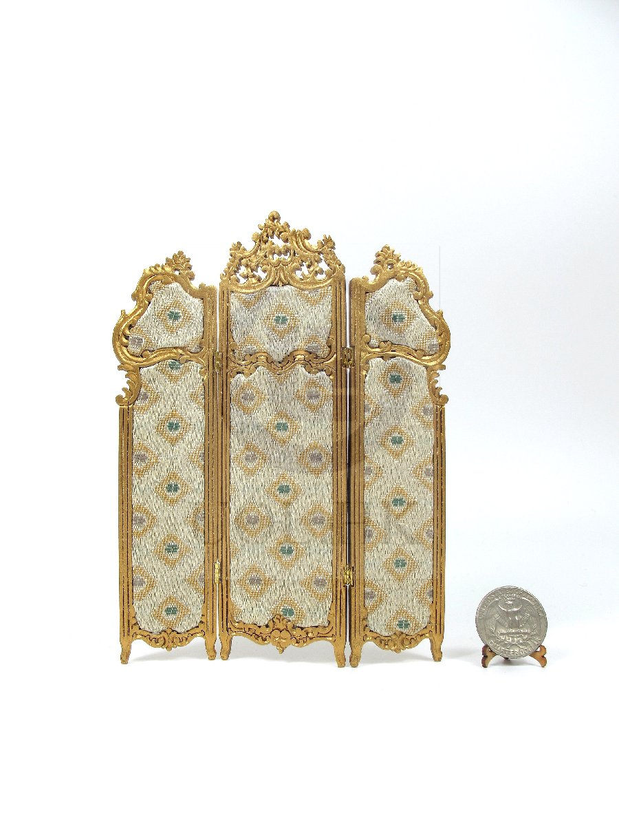 1:12 Scale Miniature Dressing Screen For Doll House [G]