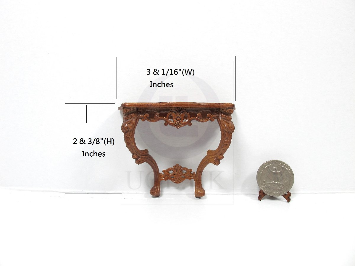 1:12 Scale Miniature French Console Table For Doll House [WN]